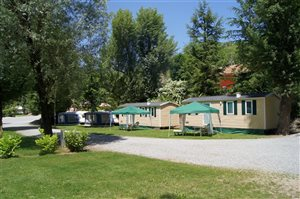 Location Mobilhomes Caravanes - Camping Les Bords du Tarn - Gorges du Tarn