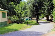 Location Bungalow toilés - Camping Les Bords du Tarn - Gorges du Tarn